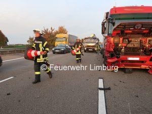 Verkehrsunfall A3 Höhe Berger Feldhoher Sachschaden Bei Unfall Auf