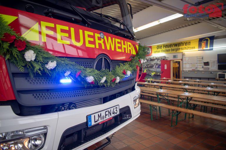 Indienststellung des LF10 KatS – ein seltenes Erlebnis für ein Feuerwehrmitglied