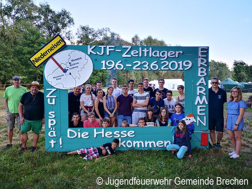 Jugendfeuerwehren der Gemeinde Brechen